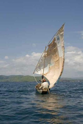 sail dhow Lake T